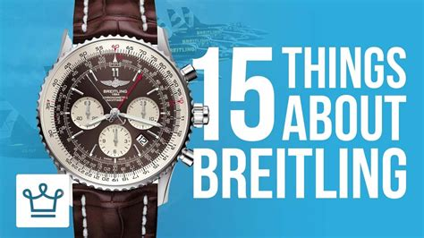 15 things you didn 39 t know about breitling alux com