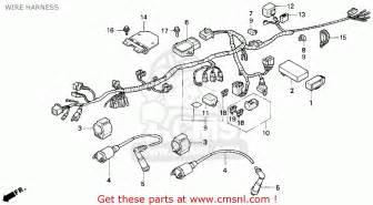 similiar honda nighthawk 250 wiring diagram keywords honda cb250 nighthawk 1993 usa wire harness schematic partsfiche