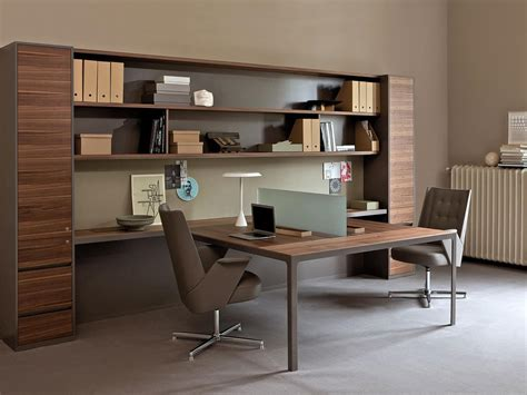 walls equipped  office  storage units idfdesign