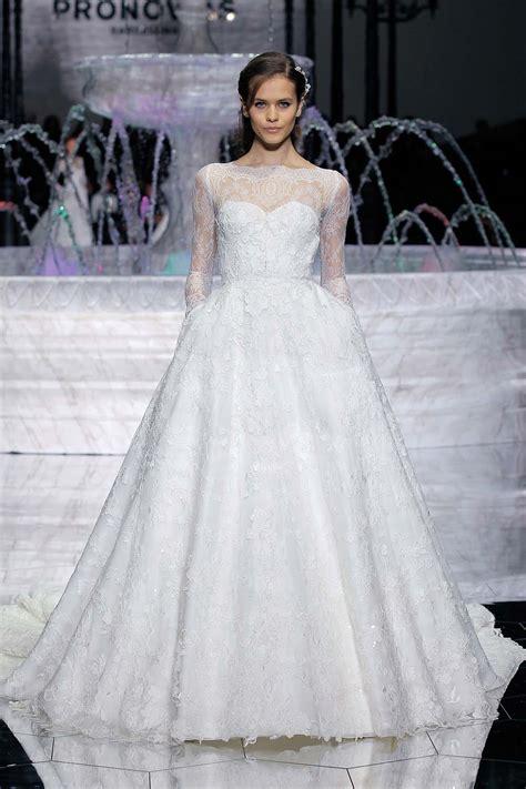 atelier pronovias spring  wedding dresses weddingbells