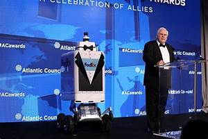 Frederick W  Smith Honored By Atlantic Council With