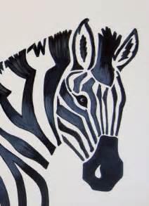 Easy Zebra Painting Art