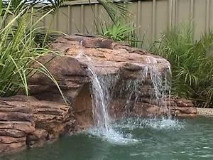 Piscine Avec Cascade : cascade piscine polynesien petit 33479 ~ Premium-room.com Idées de Décoration