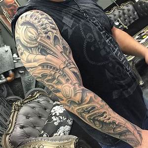 Tattoo Ganzer Arm Frau : tattoo motive ganzer arm biomechanik tattoo ganzer arm feuer metall teile tattoos oldscool88 ~ Frokenaadalensverden.com Haus und Dekorationen