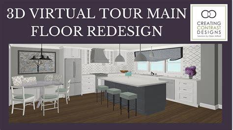 Room Planner 3d Virtual Tour Main Floor Re-design
