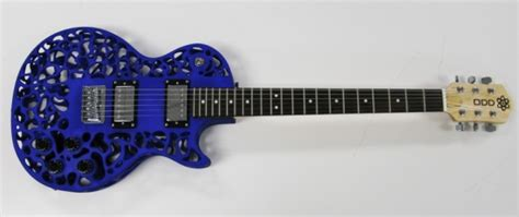 3ders org new atom 3d printed electric guitar has a more metallic sound 3d printing news