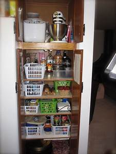 Tip for how to organize the pantry and linen closet ask for Organizing kitchen pantry with deep shelves