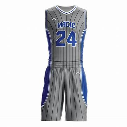 Basketball Uniform Sublimated Magic Triad Specifications