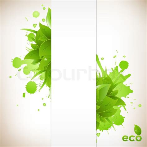 environment friendly design design eco friendly isolated on white background vector illustration stock vector colourbox