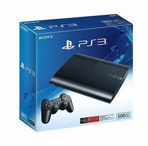 Sony Playstation 3 Super Slim 500 Gb Console  Charcoal