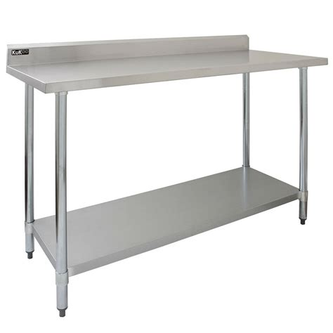 commercial table ft stainless steel kitchen prep work