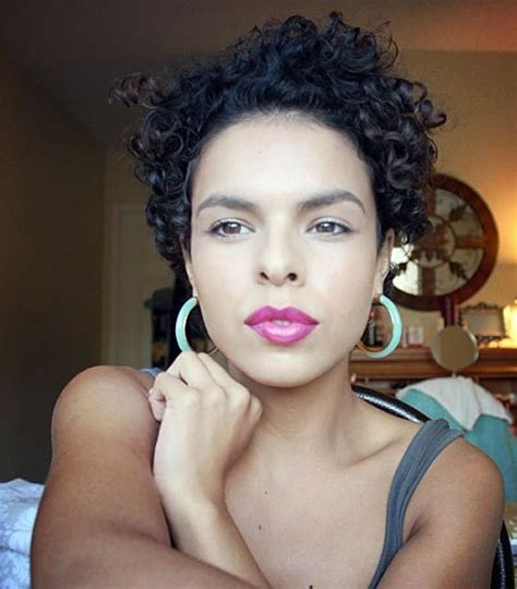 20 standout curly and wavy pixie cuts