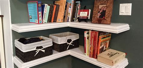 Diy Floating Corner Shelves  Wilker Do's