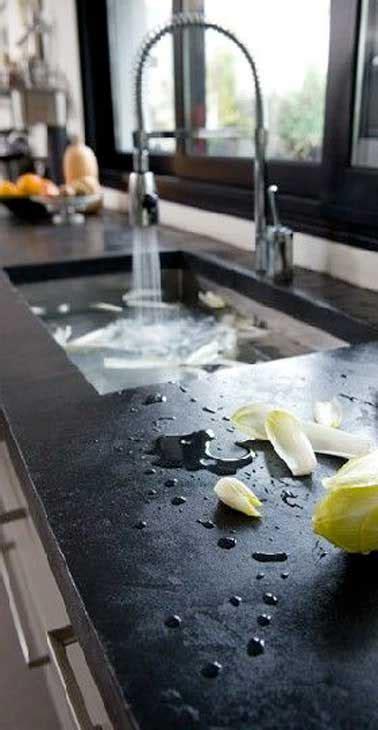 béton ciré sur carrelage plan de travail cuisine béton ciré sur carrelage de plan de travail de cuisine