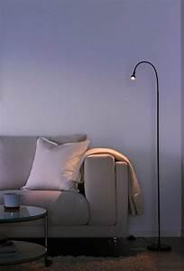 25 modern floor reading lamps for stylish interiors for Short floor reading lamp