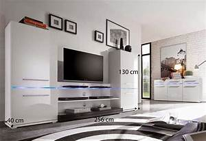 buffet led conforama awesome buffet salon conforama aixen With good grand meuble de rangement 2 meuble tv living design moderne portes push laque