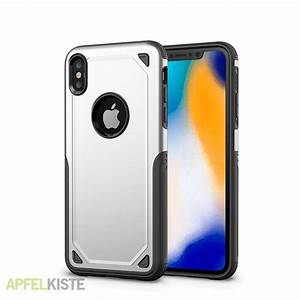 iphone xr outdoor hybrid hülle rugged in silber