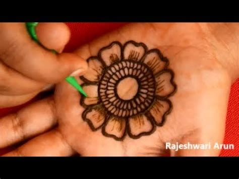 Karwa Chauth Mehndi Designs For Hands 2018 * Easy Latest