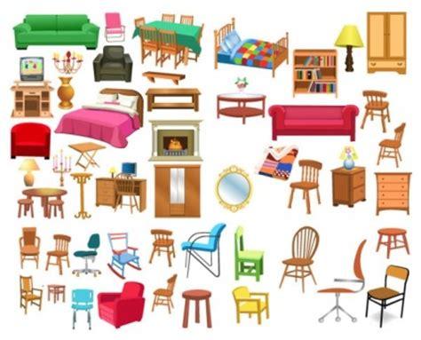 variety  furniture clip art vector art ai svg eps