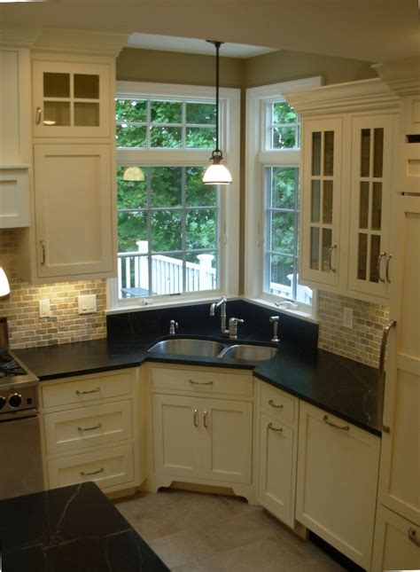 corner kitchen sink cabinet corner sink sinks and corner kitchen sinks on pinterest