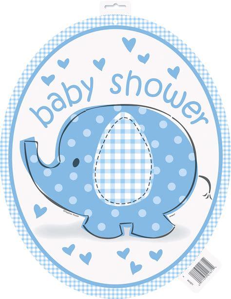 baby shower for large umbrellaphants blue baby shower large cutout australia 39 s