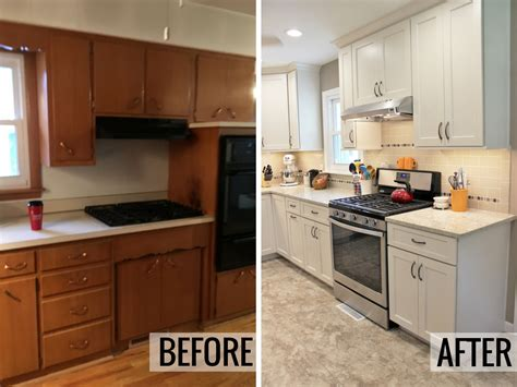 Before And After Kitchen Soffit Removal by A Rock Island Kitchen Remodeled By Home Stores