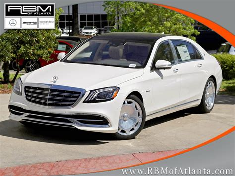 Maybach Atlanta by New 2018 Mercedes S Class Maybach S 560 Sedan In