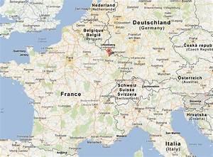Plan De Metz : metz plan et image satellite ~ Farleysfitness.com Idées de Décoration