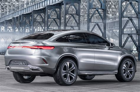 Mercedes Benz Concept Coupe Suv First Look Photo Gallery