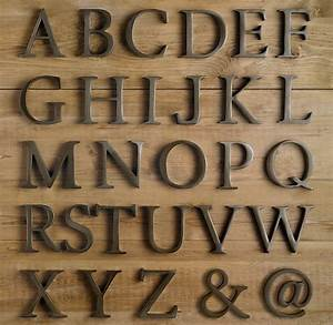 cococozy monogram style large living room letters With metal alphabet letters for wall