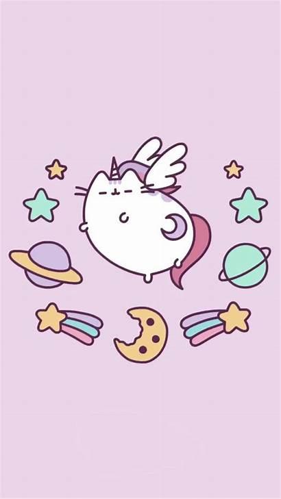 Pusheen Unicorn Kawaii Pastel Wallpapers Cats Unicorns