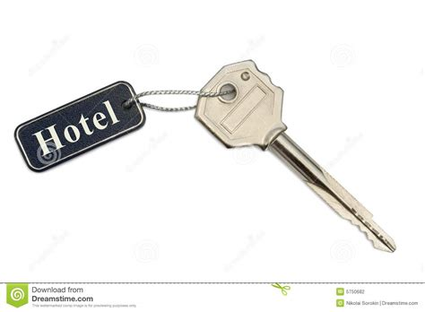 Key With Label Hotel Stock Photography