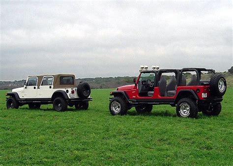 new 4 door jeep truck stretch jeep tj