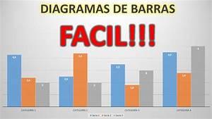 Diagramas De Barras En Excel F U00e1cil Y R U00e1pido  Estad U00cdsticas