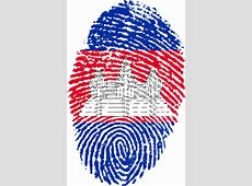 Free illustration Cambodia, Flag, Fingerprint Free