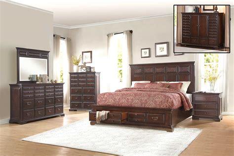 Homelegance Bedroom Set by Homelegance Cranfills Bedroom Set Cherry 1832 Bedroom