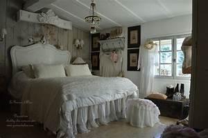 Chambre Shabby Chic : une chambre romantique shabby chic le grenier d 39 alice ~ Preciouscoupons.com Idées de Décoration