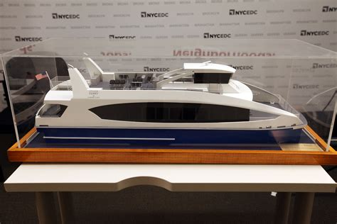 Ferry Boat Developments by Model Citywide Ferry Boat Sets Sail For Borough