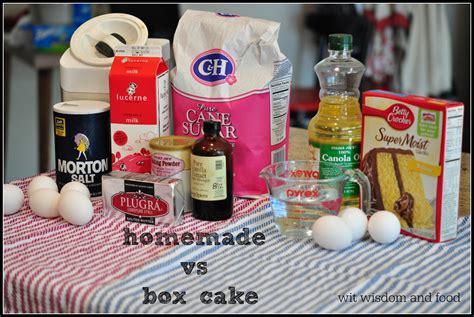 homemade cakes  scratch classic