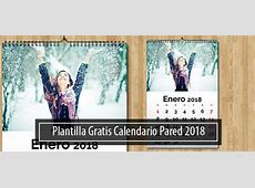Plantilla Calendario 2018 Pared Gratis Magical Art Studio