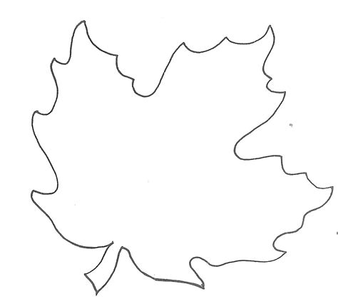 Leaf Template Glenda S World Leaf Templates