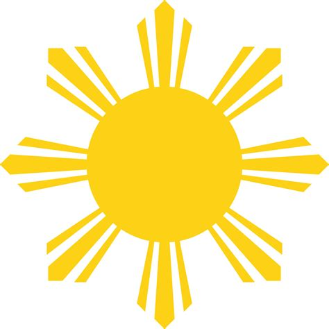 Filesun Symbol Of The National Flag Of The Philippines