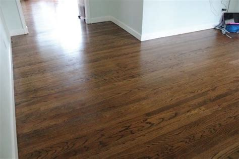 Minwax Hardwood Floor Reviver Before And After by 50 50 Mix Of Walnut And Provincial Both Minwax