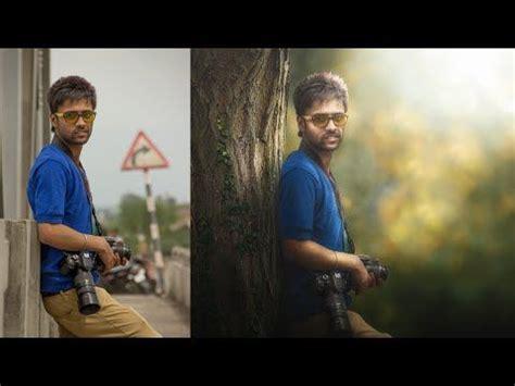 photoshop tutorial photo manipulation change background