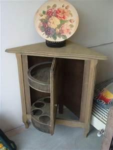 Meuble Bar Angle : meuble d 39 angle mini bar blog de sylvie brocante753 ~ Melissatoandfro.com Idées de Décoration