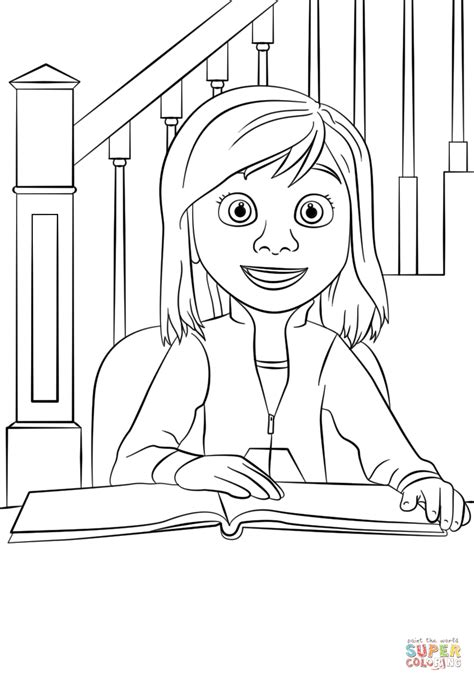 riley coloring page  printable coloring pages