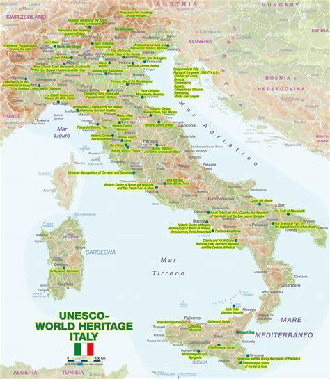unesco si鑒e unesco heritage italy map my