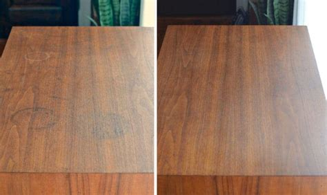 remove water stains  wood furniture