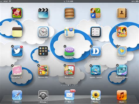 how to organize apps using folders on your geekslp