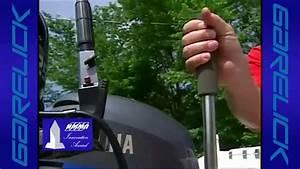 Garelick Manual Operated  U0026 39 Easy Pump U0026 39  Hydraulic Lift Outboard Motor Bracket - Iboats Com